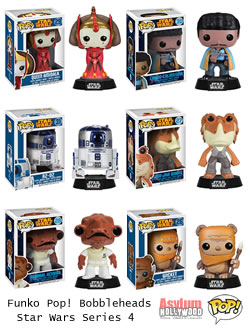 Star Wars Funko Pop Vinyl Bobbleheads Series 4