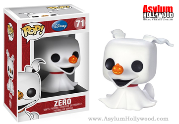 Zero the Ghost Dog - Funko Pop! 3.75