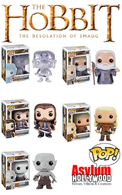 Funko Pop Vinyl figures from The Desolation of Smaug